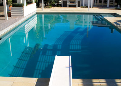 Coatsville Pool by Alfresco Pools with Diving Board