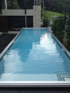 Parnell Above Ground Pools With Fully Mosaic Tiled External Walls