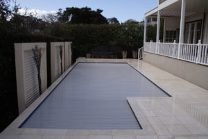 Remuera Concrete Pool with Slated in Ground Automatic Cover System